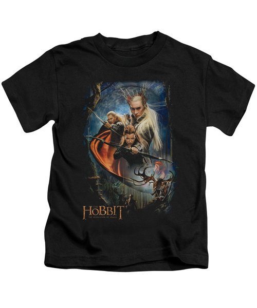 Hobbit - Thranduil's Realm Kids T-Shirt by Brand A