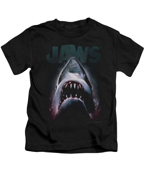 Jaws - Terror In The Deep Kids T-Shirt by Brand A