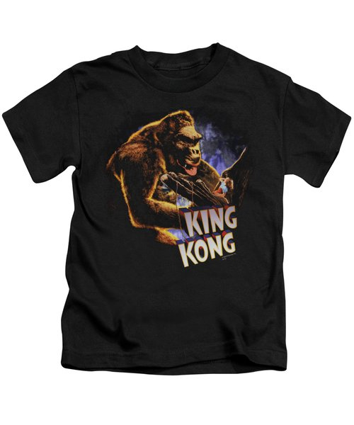 King Kong - Kong And Ann Kids T-Shirt by Brand A