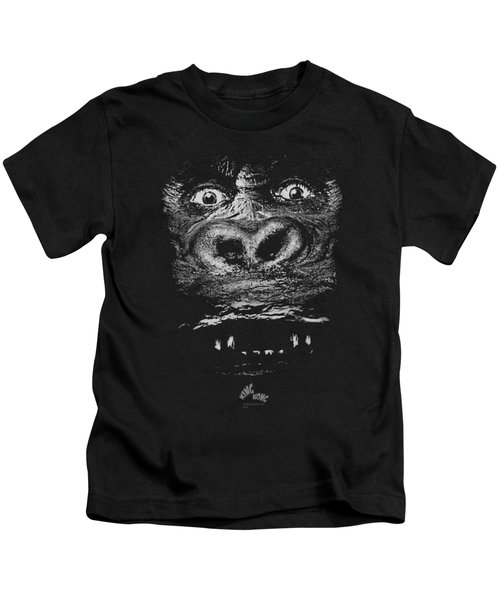 King Kong - Up Close Kids T-Shirt by Brand A