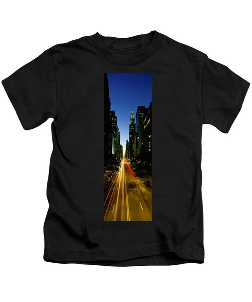 Lexington Avenue, Cityscape, Nyc, New Kids T-Shirt by Panoramic Images