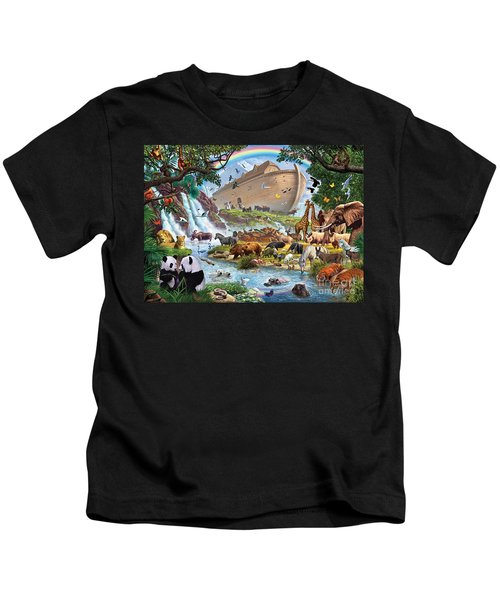 Noahs Ark - The Homecoming Kids T-Shirt by Steve Crisp
