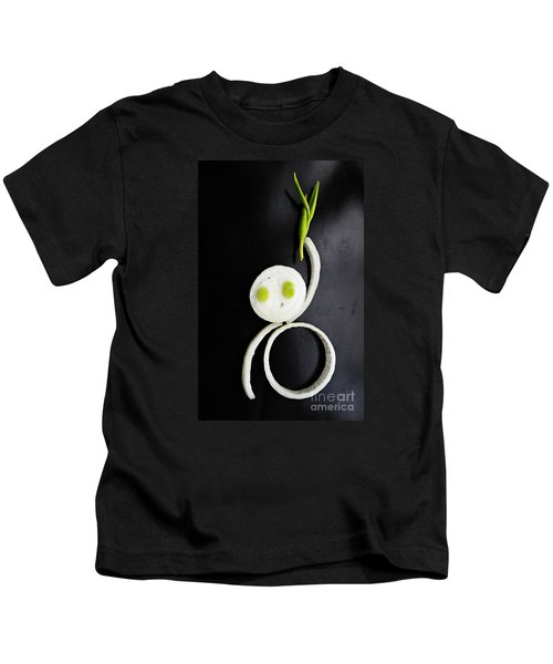 Onion Baby Kids T-Shirt by Sarah Loft