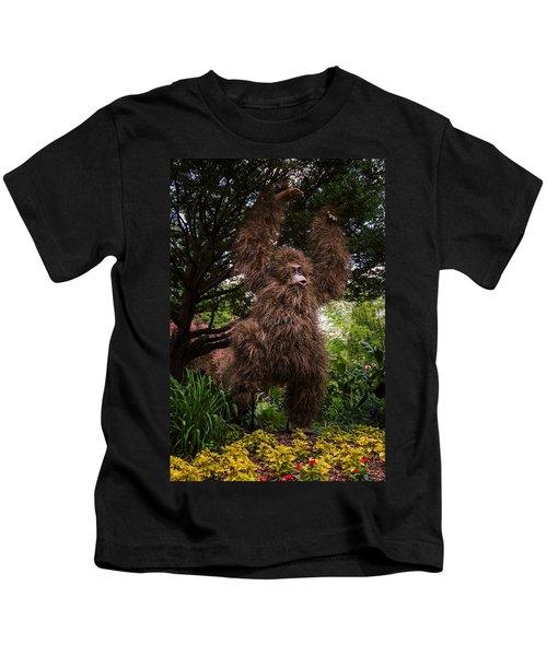 Orangutan Kids T-Shirt by Joan Carroll