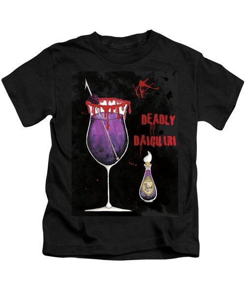 Pick Your Poison Iv Kids T-Shirt by Elyse Deneige