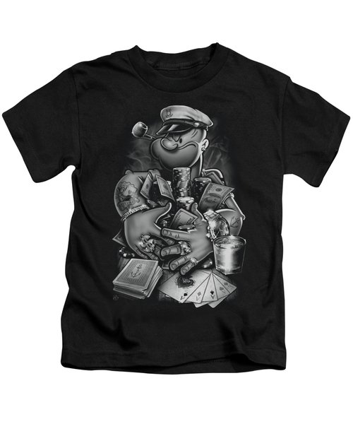 Popeye - Mine All Mine Kids T-Shirt by Brand A