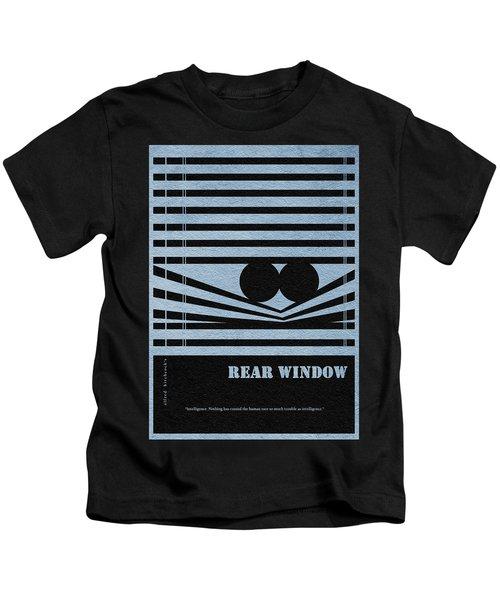 Rear Window Kids T-Shirt by Ayse Deniz
