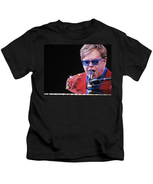 Rocket Man Kids T-Shirt by Aaron Martens