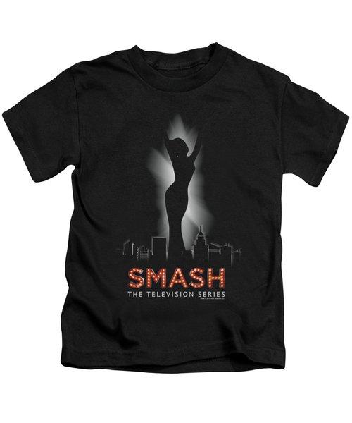 Smash - City Lights Kids T-Shirt by Brand A