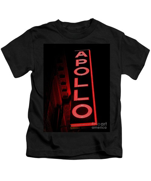 The Apollo Kids T-Shirt by Ed Weidman