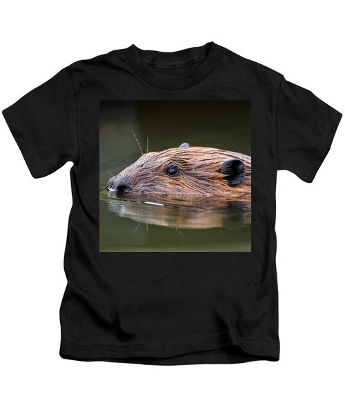 The Beaver Square Kids T-Shirt by Bill Wakeley