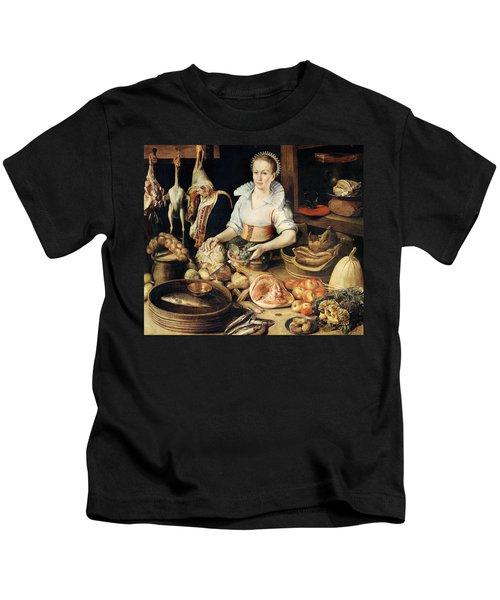 The Cook Kids T-Shirt by Pieter Cornelisz van Rijck