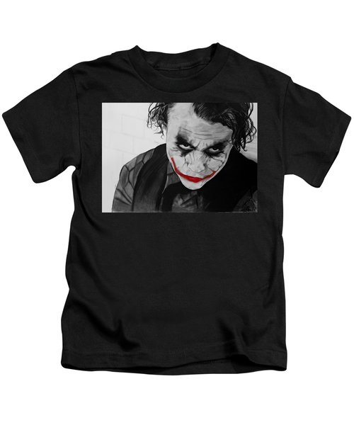 The Joker Kids T-Shirt by Robert Bateman