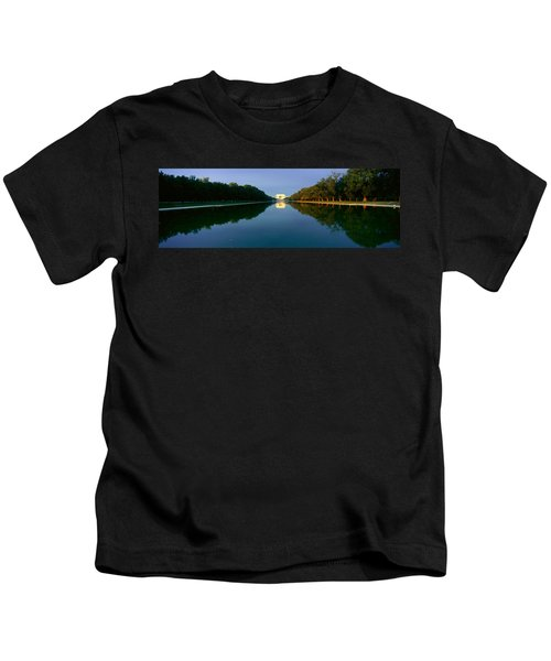 The Lincoln Memorial At Sunrise Kids T-Shirt by Panoramic Images