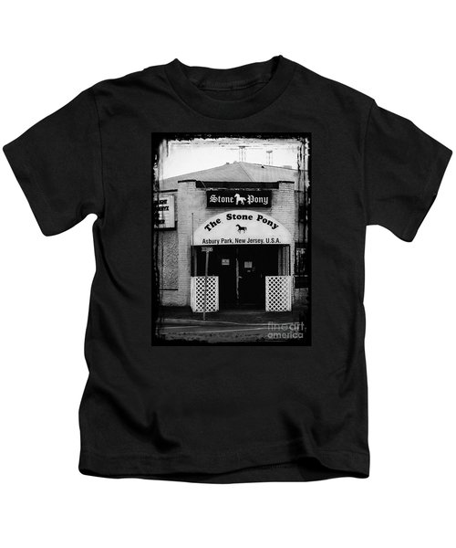 The Stone Pony Kids T-Shirt by Colleen Kammerer