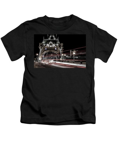 Tower Bridge London Kids T-Shirt by Martin Newman