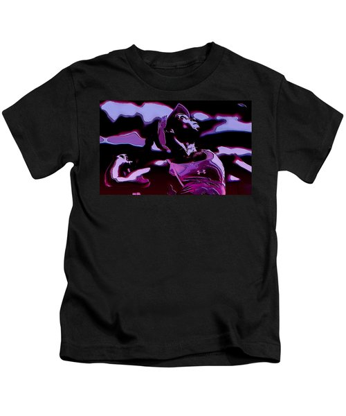 Venus Williams Queen V Kids T-Shirt by Brian Reaves