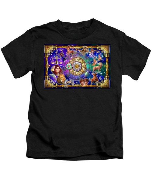 Zodiac 2 Kids T-Shirt by Ciro Marchetti