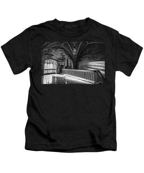 Cold Rock Warm Light Kids T-Shirt by CJ Schmit