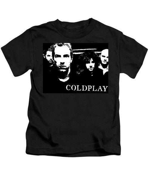 Coldplay Kids T-Shirt by Paula Sharlea