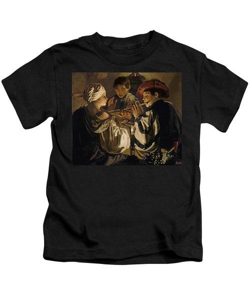 Concert Kids T-Shirt by Hendrick Ter Brugghen