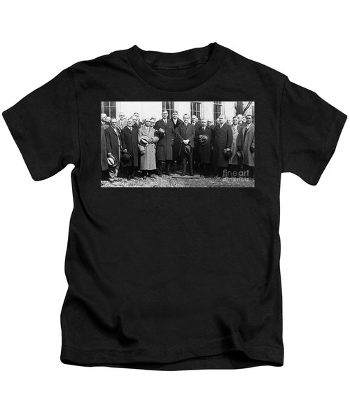 Coolidge: Freemasons, 1929 Kids T-Shirt by Granger
