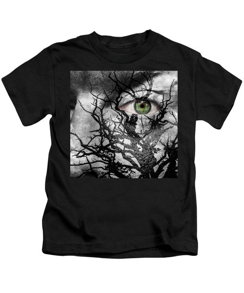 Medusa Tree Kids T-Shirt by Semmick Photo