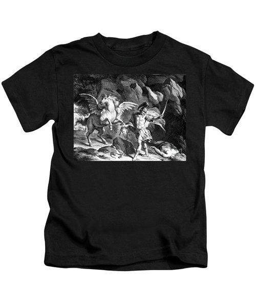 Mythology: Perseus Kids T-Shirt by Granger
