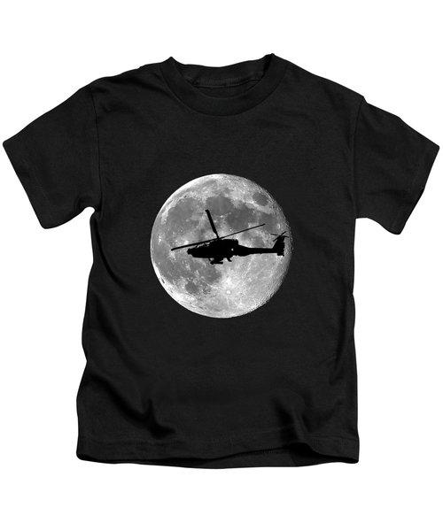 Apache Moon .png Kids T-Shirt by Al Powell Photography USA