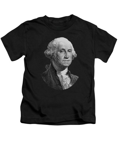 George Washington  Kids T-Shirt by War Is Hell Store