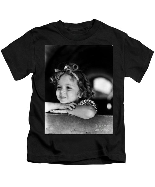 Shirley Temple (1928- ) Kids T-Shirt by Granger