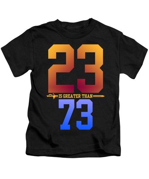 2373-2 Kids T-Shirt by Augen Baratbate