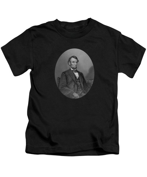 Abraham Lincoln Kids T-Shirt by War Is Hell Store