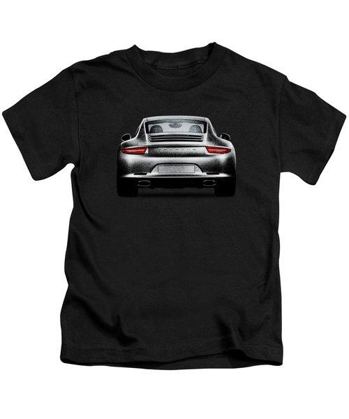 911 Carrera Kids T-Shirt by Mark Rogan