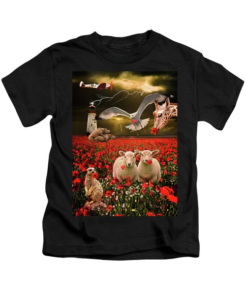 A Very Strange Dream Kids T-Shirt by Meirion Matthias