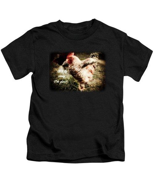 I'll Fly Away  Kids T-Shirt by Anita Faye