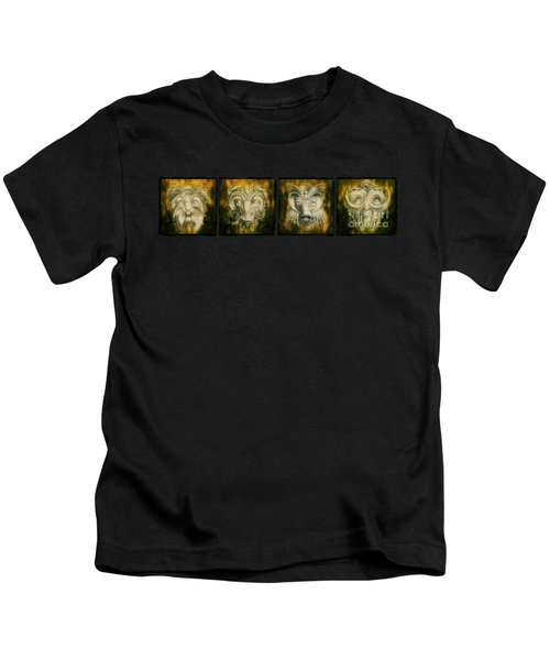 The Lineup Kids T-Shirt by Terry Fleckney