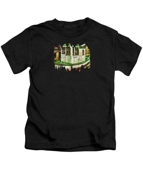 Beaver The Old Fishing Boat Kids T-Shirt by Thom Zehrfeld