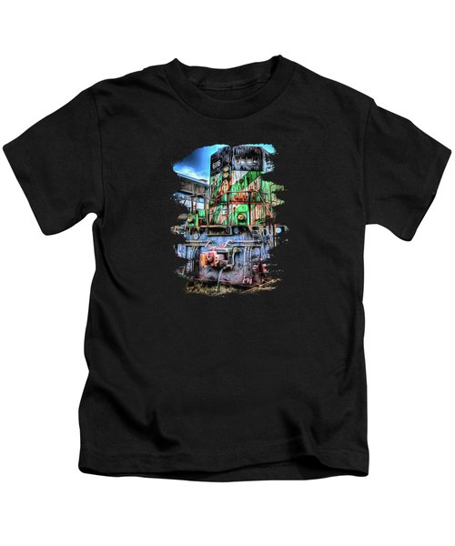 Big Bad 6116 Kids T-Shirt by Thom Zehrfeld