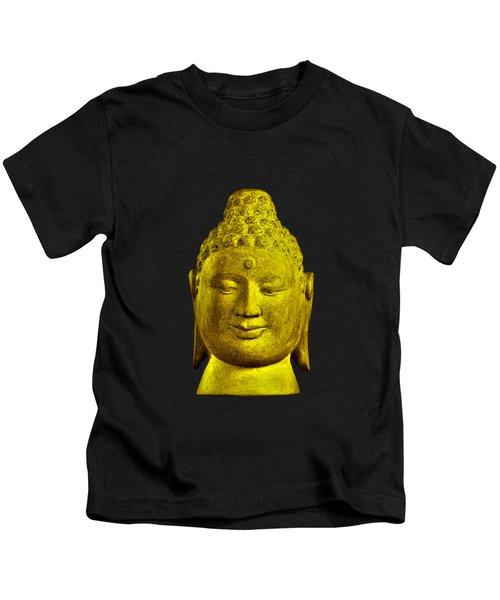Borobudur Gold  Kids T-Shirt by Terrell Kaucher