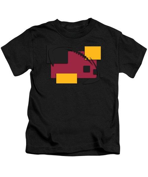 Cardinals Abstract Shirt Kids T-Shirt by Joe Hamilton