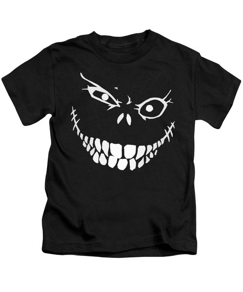 Crazy Monster Grin Kids T-Shirt by Nicklas Gustafsson