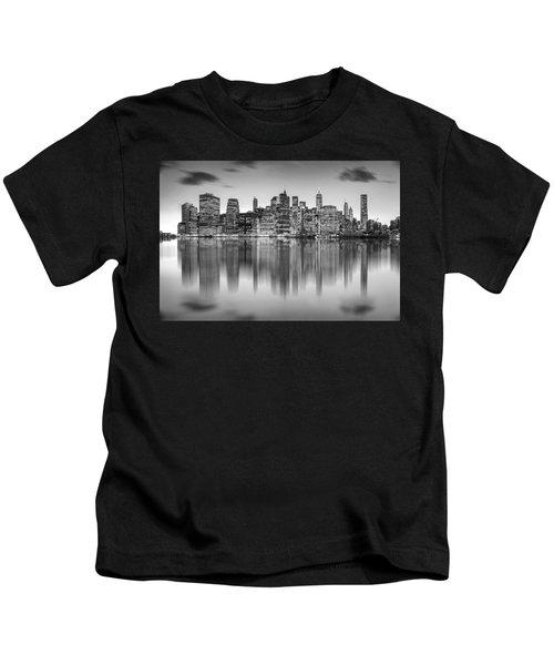 Enchanted City Kids T-Shirt by Az Jackson