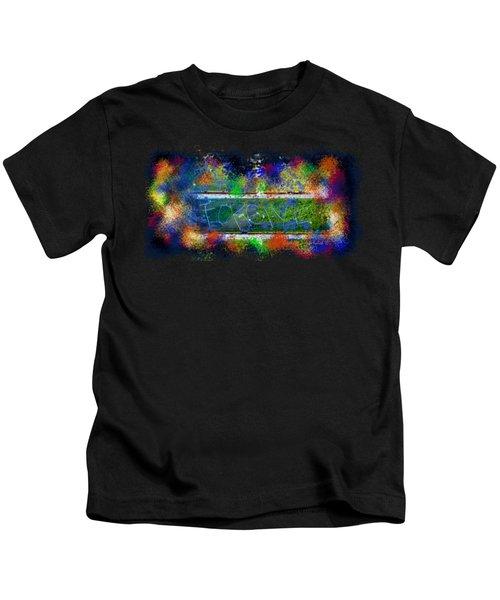 Forgive Brick Tshirt Kids T-Shirt by Tamara Kulish