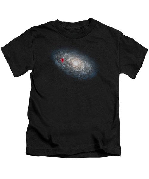 Funny Astronomy Universe  Nerd Geek Humor Kids T-Shirt by Philipp Rietz