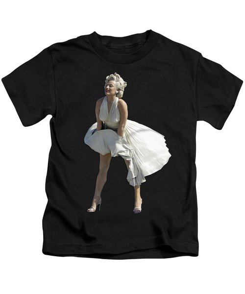 Key West Marilyn - Special Edition Kids T-Shirt by Bob Slitzan