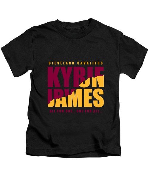 Kyriebron Kids T-Shirt by Augen Baratbate
