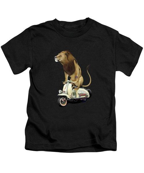 Lamb Colour Kids T-Shirt by Rob Snow