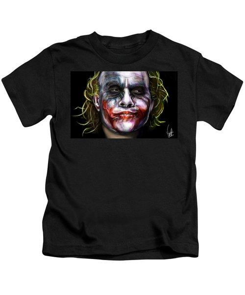 Let's Put A Smile On That Face Kids T-Shirt by Vinny John Usuriello