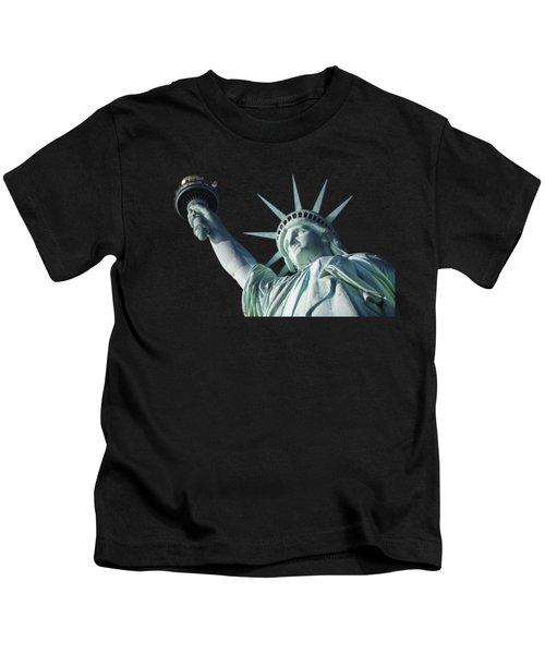 Liberty II Kids T-Shirt by  Newwwman